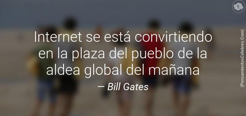 Foto Estrategia Digital Bill Gates
